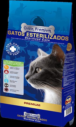 Ortín Premium Gatos Esterilizados