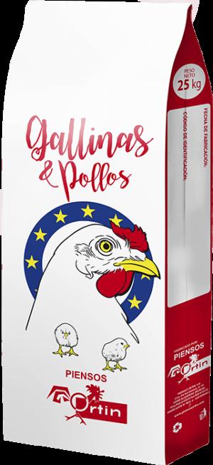 Gallinas y Pollos